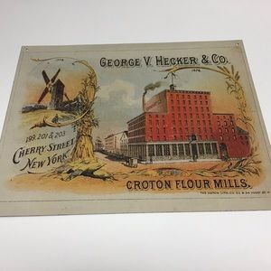 Other - Metal Flour Mill Sign